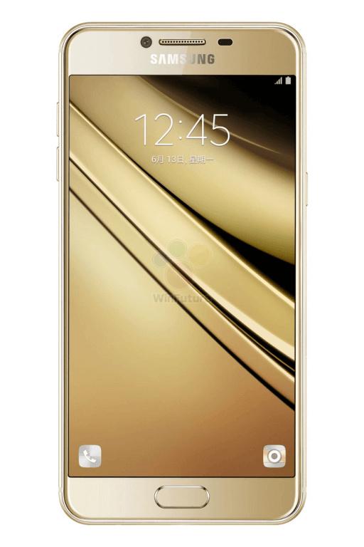 三星Galaxy C5官宣图偷跑:4G内存全金属的照片 - 2