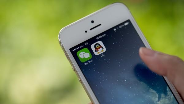 在中国 微信扼住了iPhone的命门的照片 - 1