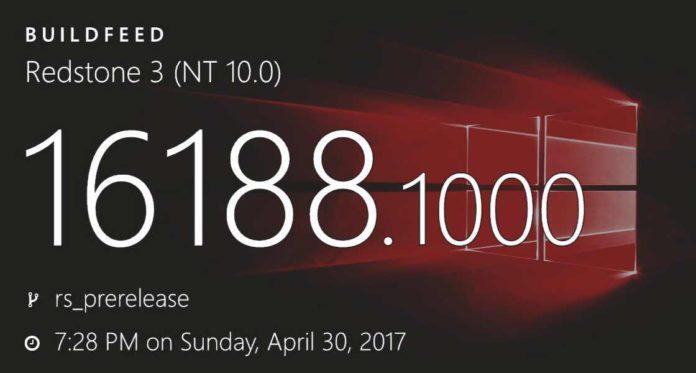 Windows 10 Build 16188发布:带来诸多新功能的照片 - 1
