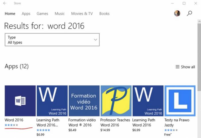 Office应用现身Windows Store,但目前无法使用的照片 - 1