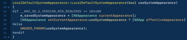 WebKit 继续泄密 macOS 10.14 将支持真正的深色模式的照片 - 2