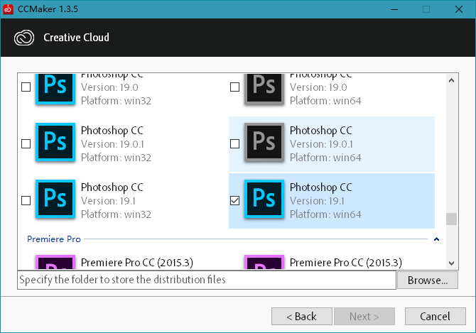 CCMaker v1.3.11 Adobe系列下载激活的照片 - 2