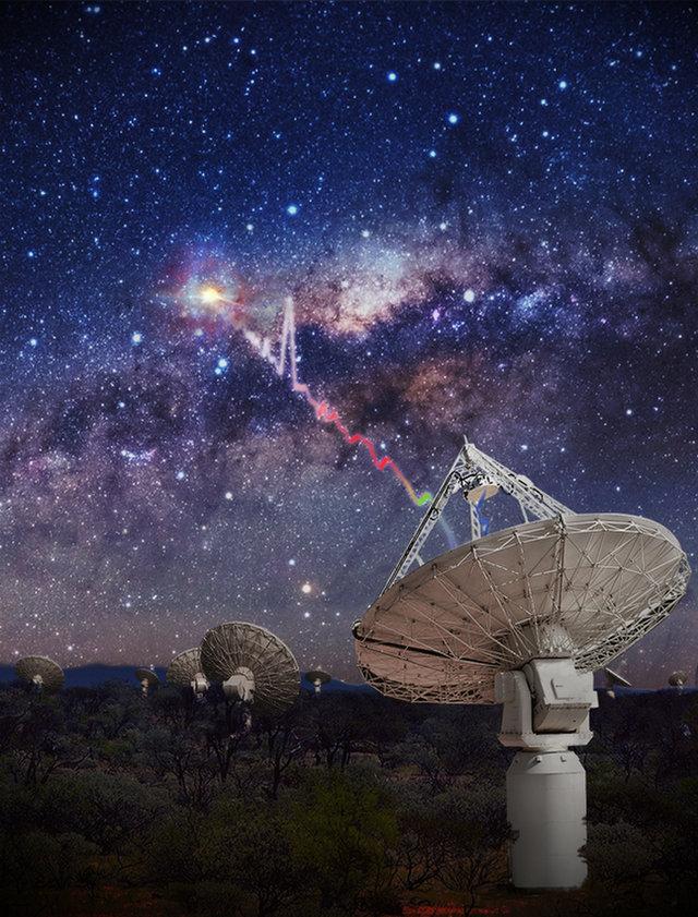 外星人窥视地球?地球遭受其它星系远古无形能量轰击的照片 - 3