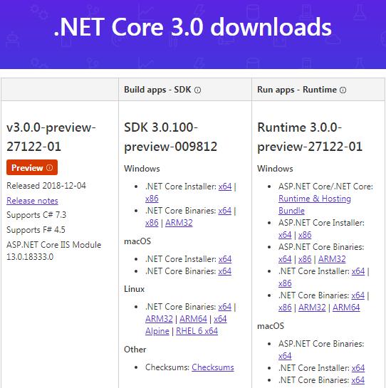微软发布.NET Core 3预览并开源Windows桌面框架的照片 - 2