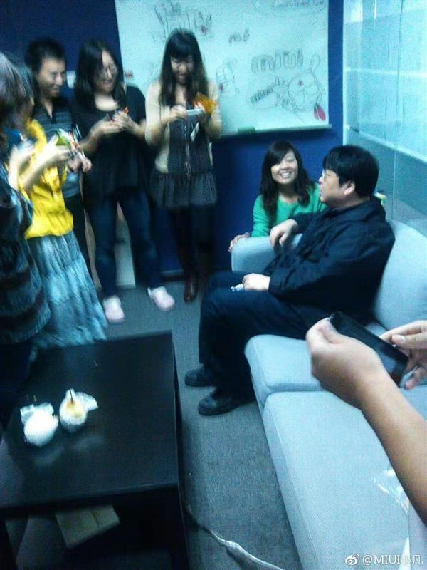 老照片:罗永浩砸完冰箱后拜访MIUI的照片 - 2