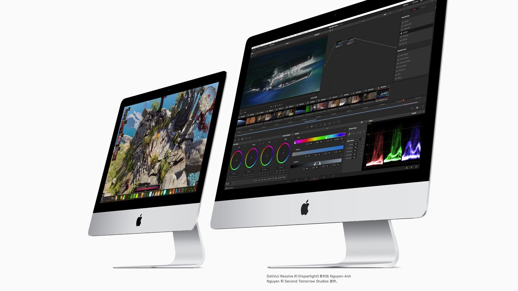 新款iMac发布 – 两倍性能提升,可选配Vega显卡的照片 - 4