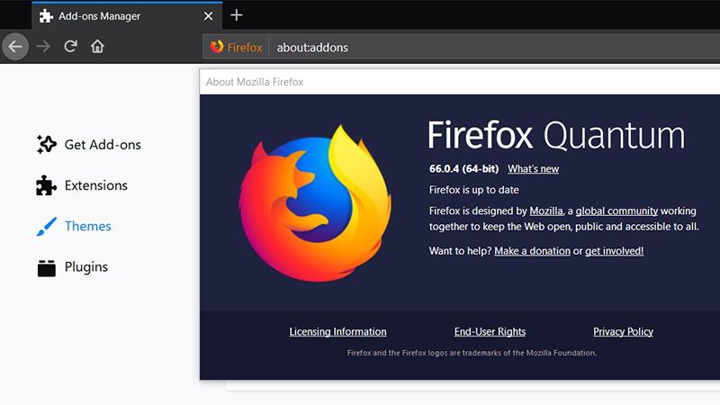 Mozilla Firefox 66.0.4发布 修复了用户无法使用扩展问题