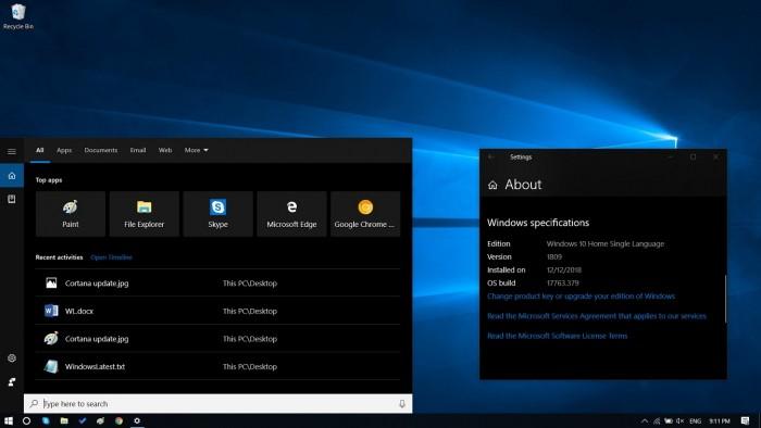 Win10 Build 17763.592发布:修复蓝牙连接和旧版Edge问题的照片
