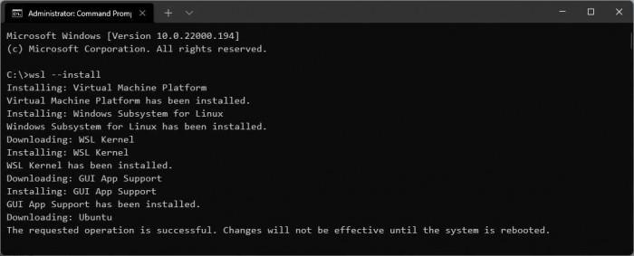 微软为Windows 11 Linux子系统带来了一些新特性