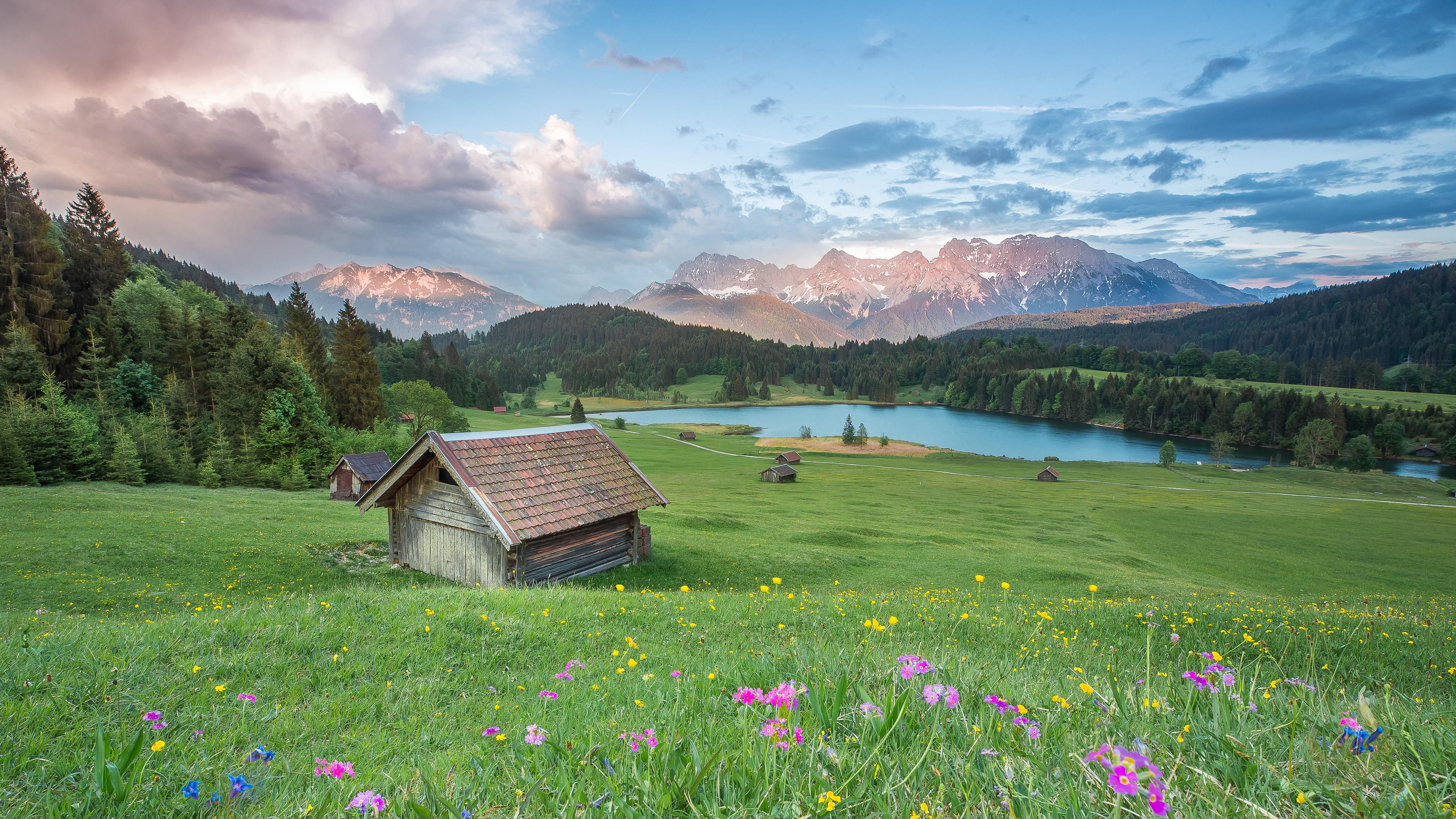 阿尔卑斯山风景