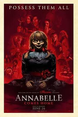 安娜貝爾3:回家海報