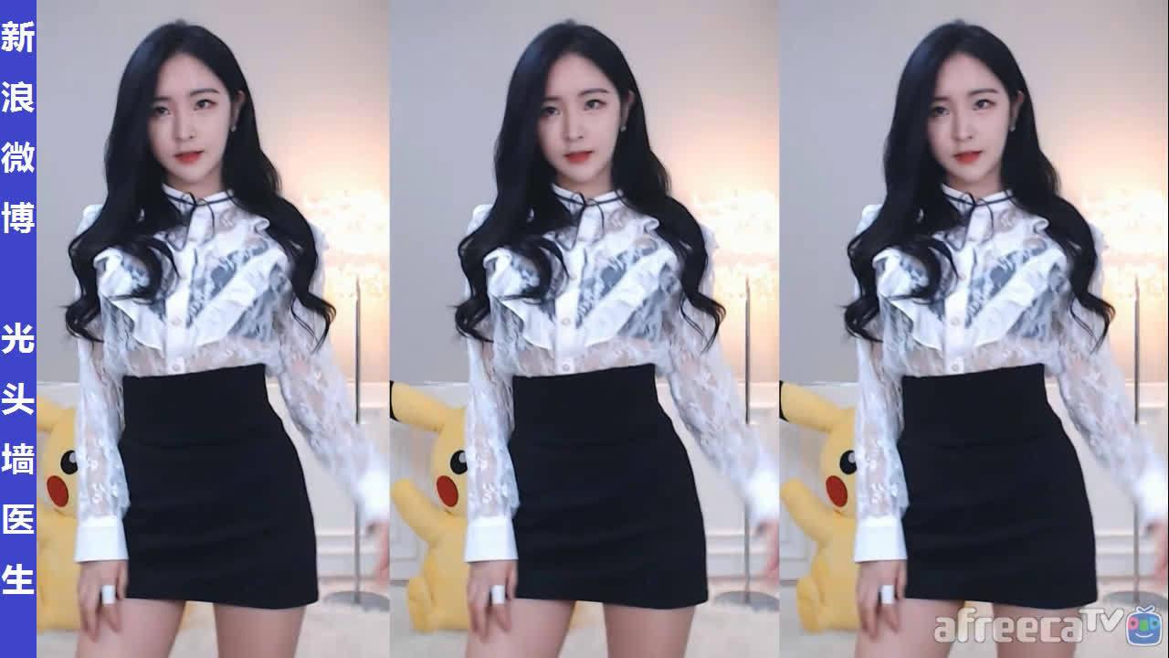 AfreecaTV美女主播皮丘피츄直播热舞剪辑20200131