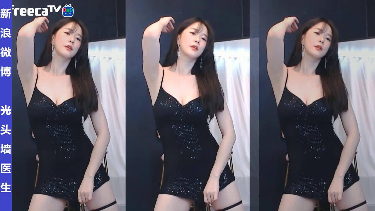 AfreecaTV女主播黑娜핸나直播热舞剪辑20200216