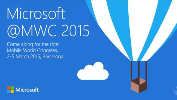 微软已送出MWC 2015新闻发布会邀请函的照片