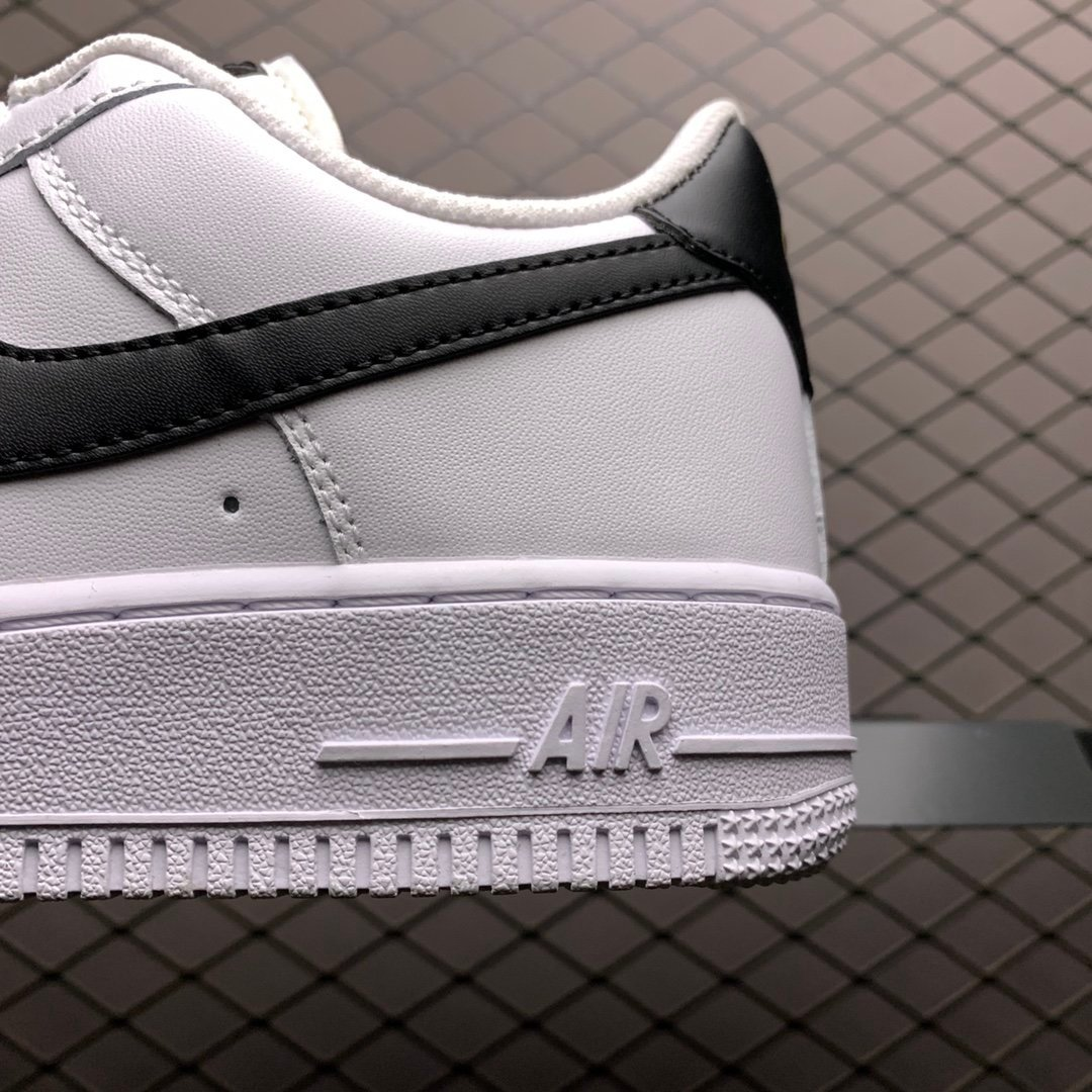 nike空军一号 Nike Air Force 1低帮黑白经典板鞋 CZ0270-100莆田高仿鞋