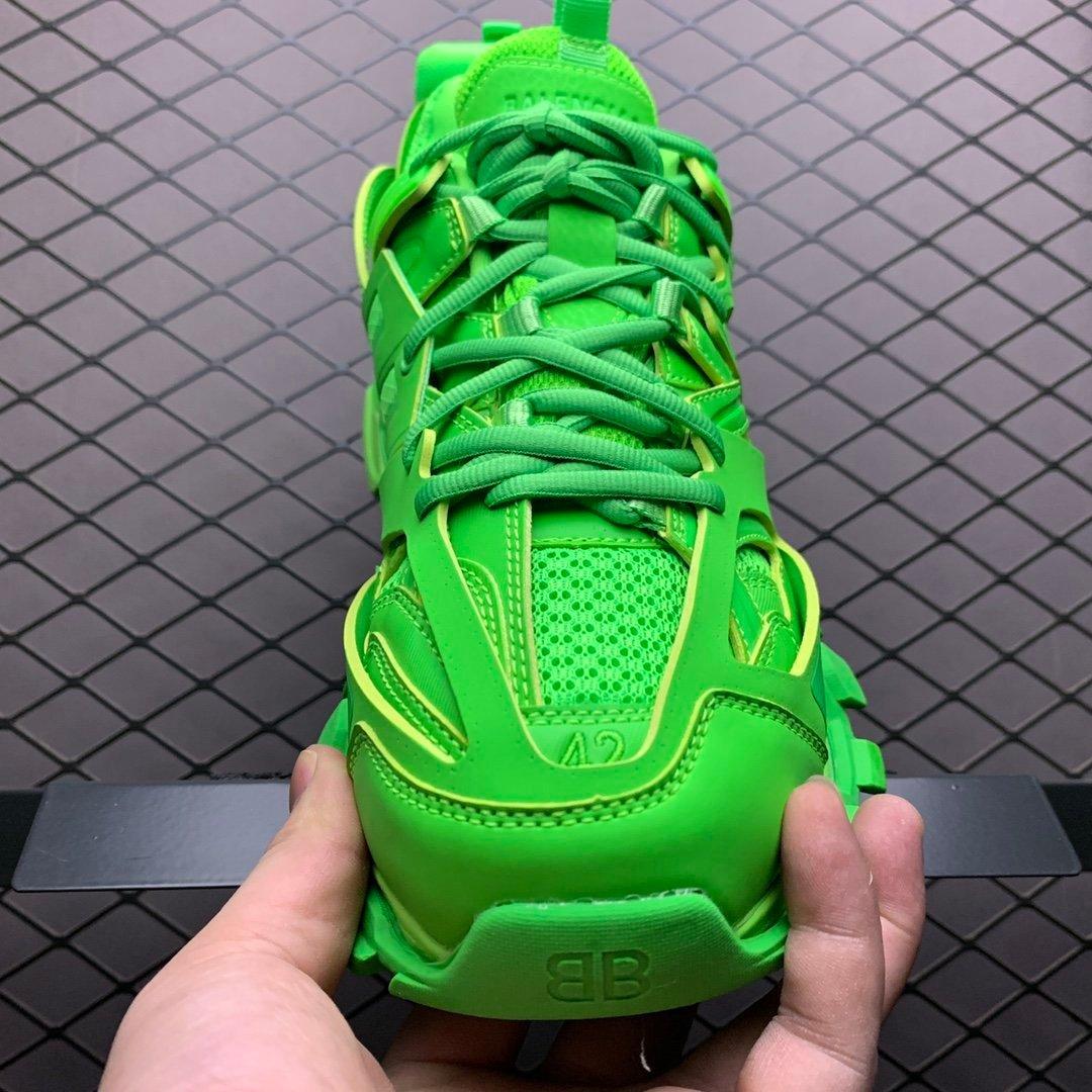 巴黎世家老爹鞋 Track 巴黎世家三代绿色 莆田原盒 51IPOO202