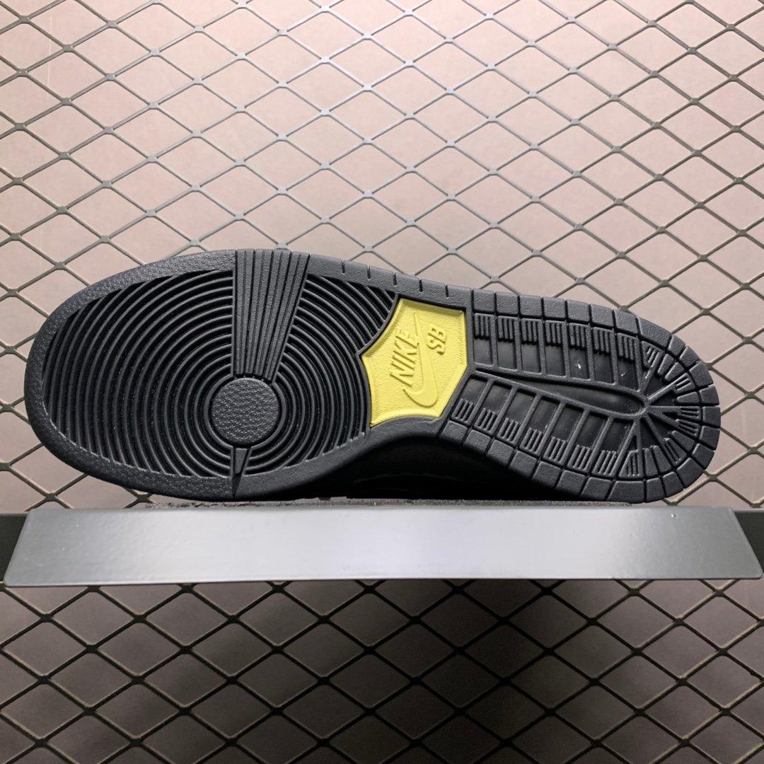 耐克SB系列高帮板鞋  Nike SB Zoom Dunk High黑 AR7620-002 莆田公司级 高仿鞋