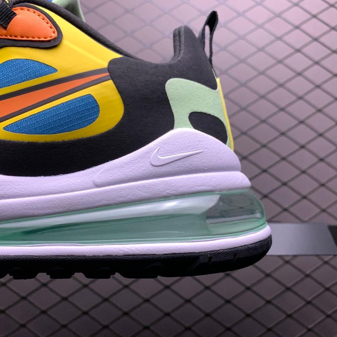 耐克跑鞋 耐克air max270气垫鞋 混色新款CZ7869-300 莆田公司级 高仿鞋