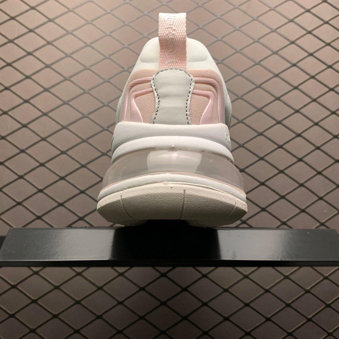 耐克跑鞋 耐克air max270气垫鞋 React ENG樱花粉 CK2895-001 莆田公司级 高仿鞋