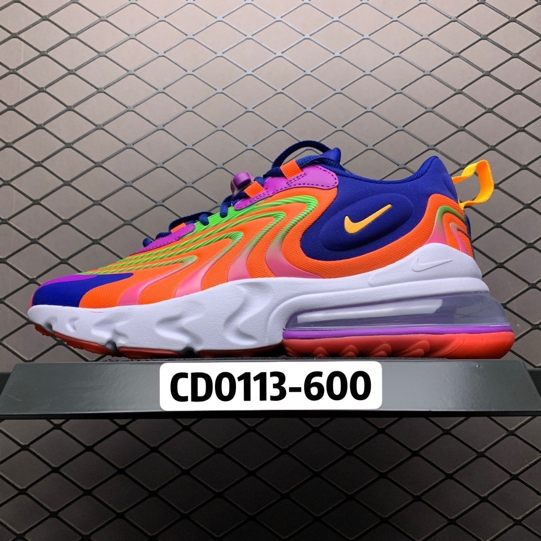 耐克跑鞋 耐克air max270气垫鞋 混色React ENG 新款CD0113-600 莆田公司级 高仿鞋