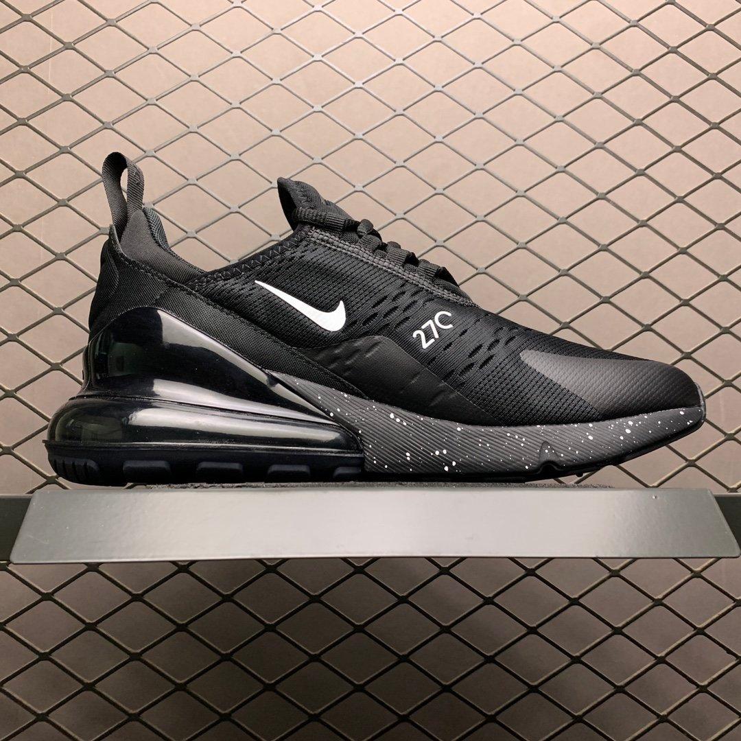 耐克跑鞋 耐克air max270气垫鞋 黑色新款AH8050-202 莆田公司级 高仿鞋