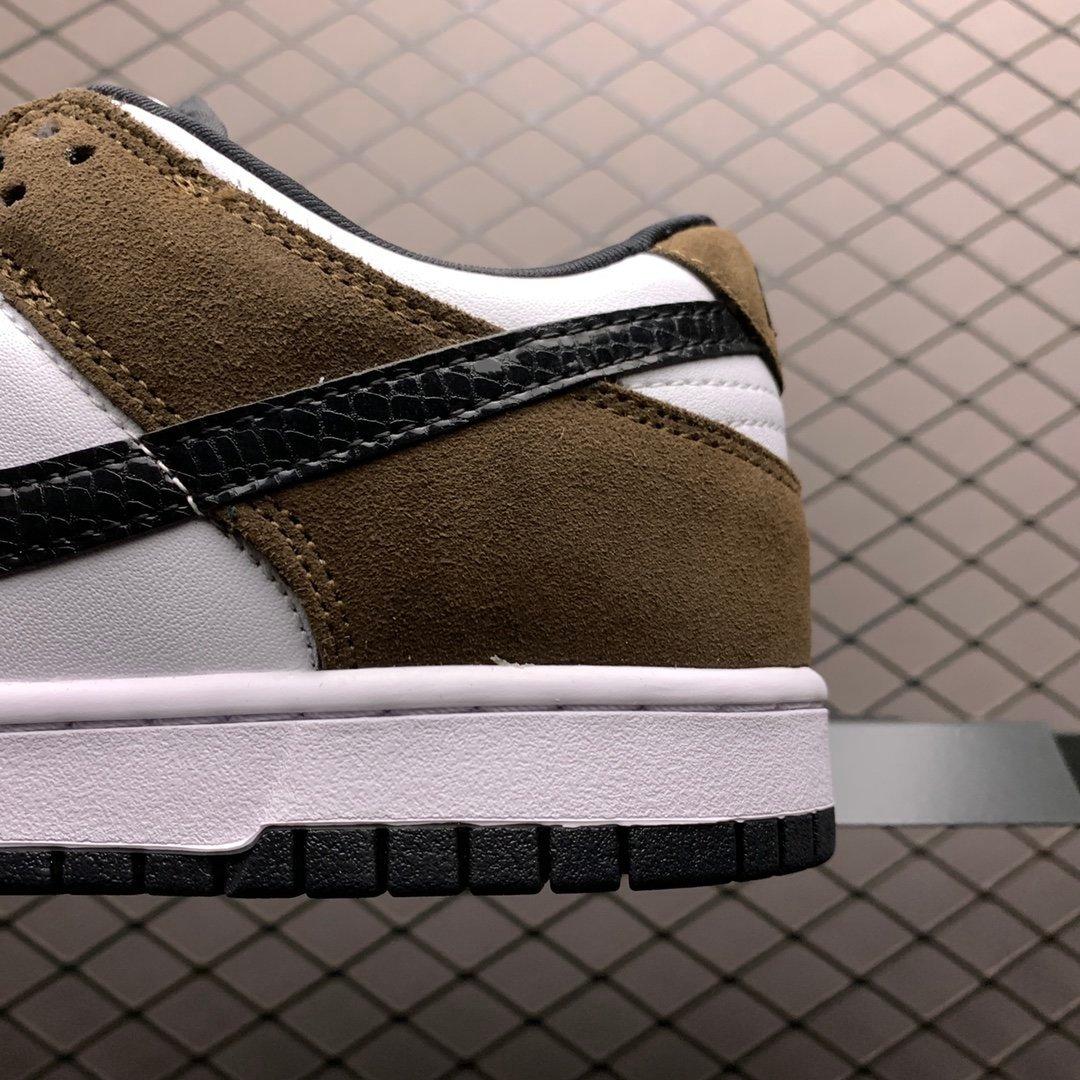 耐克SB系列板鞋 nike sb dunk low白棕 304292-102 莆田公司级 高仿鞋