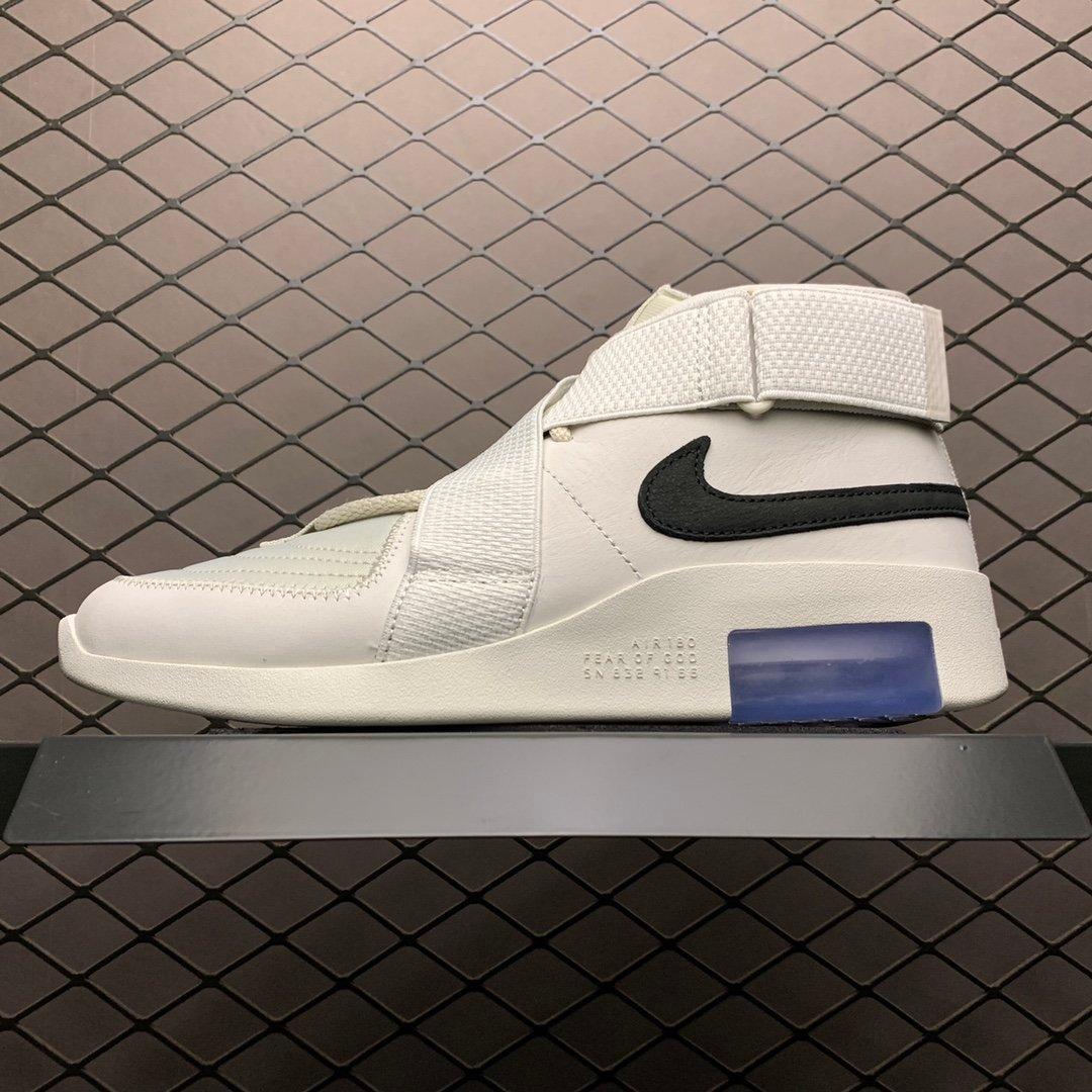 耐克运动鞋 恐惧上帝纯原 白色冰蓝可视真实Zoom气垫科技AT8087-001高仿鞋