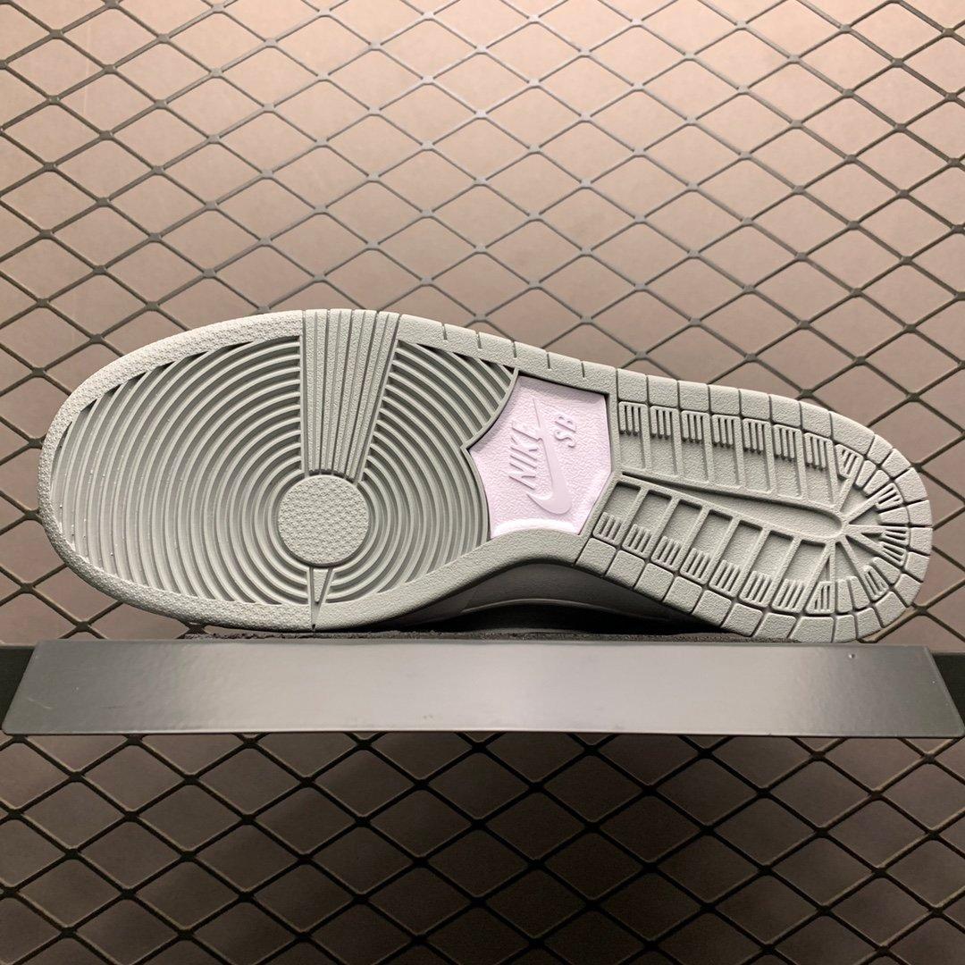 耐克板鞋 NIKE sb dunk low北极狐王一博同款AR0778-110