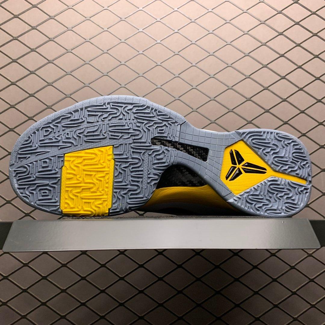 科比5代复刻科比黄实战篮球鞋ZK5 386430-104