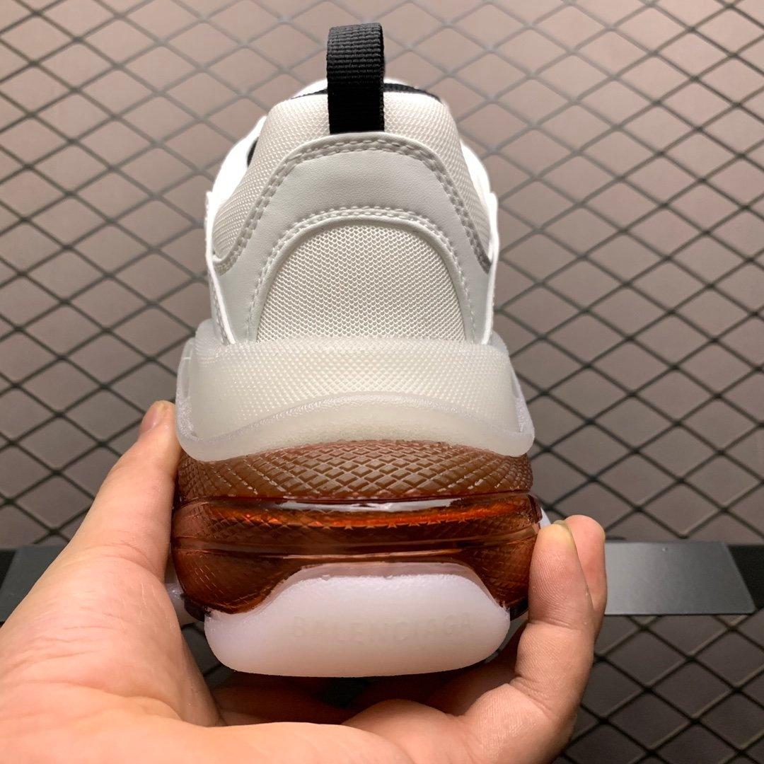 巴黎世家老爹鞋 Track 巴黎世家复古做旧 莆田原盒 Triple S 3.0