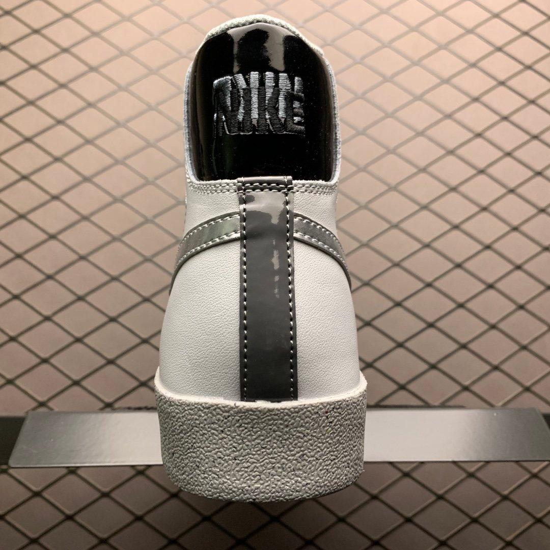 耐克开拓者高帮板鞋Nike Blazer Mid'77银勾DC9170-001