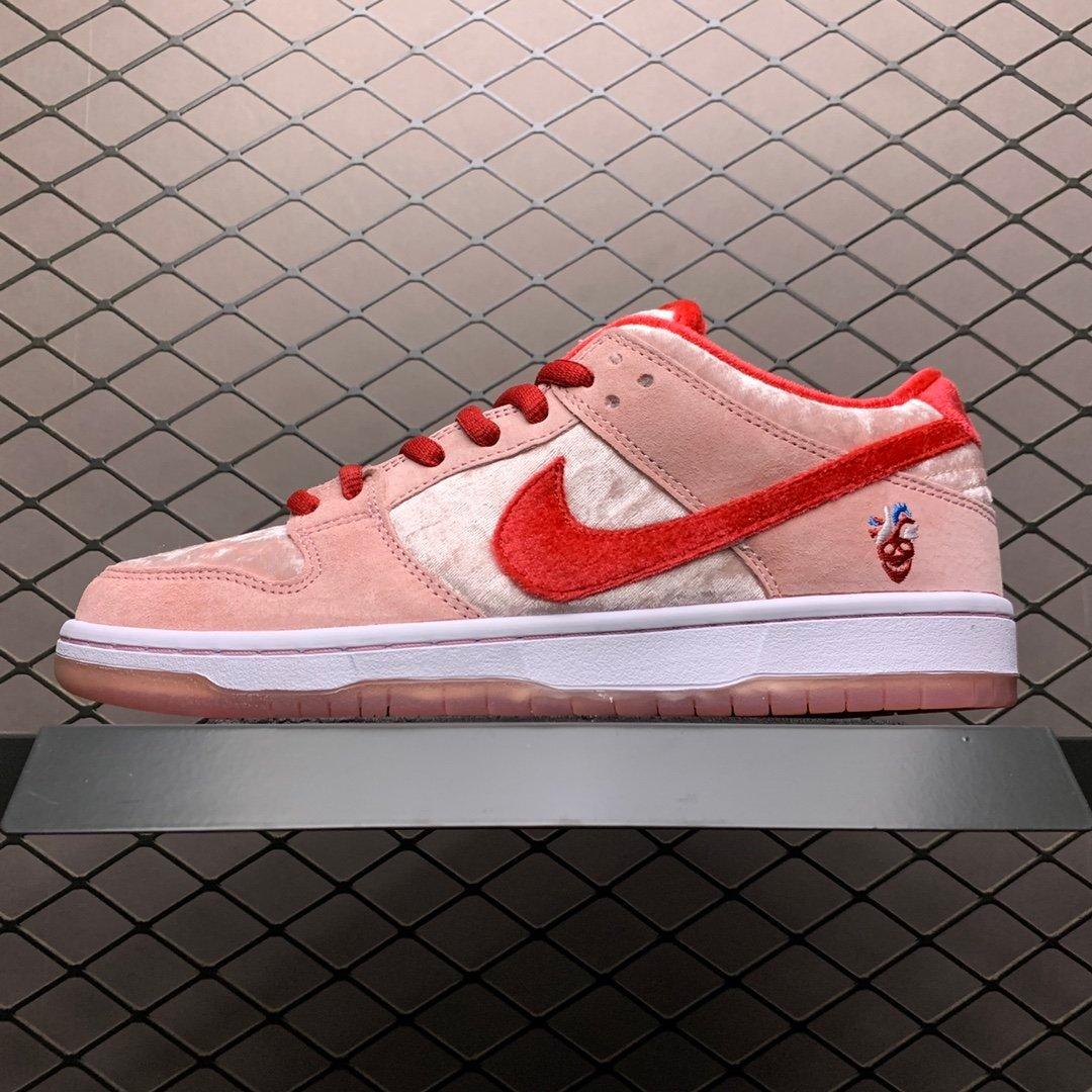 nikesb板鞋粉色女款耐克sb高仿板鞋