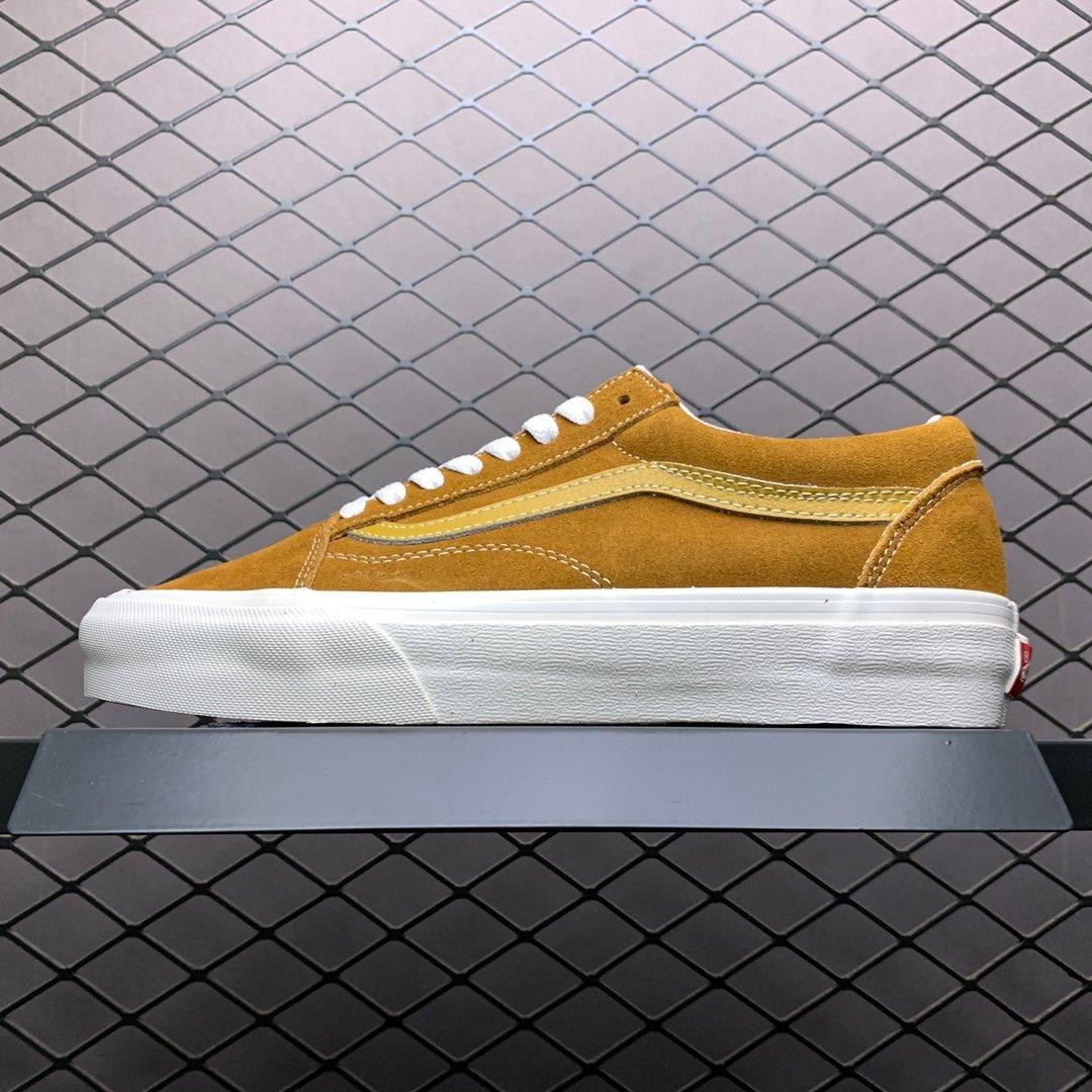 万斯Vans经典低帮黄色休闲板鞋20EDDH37
