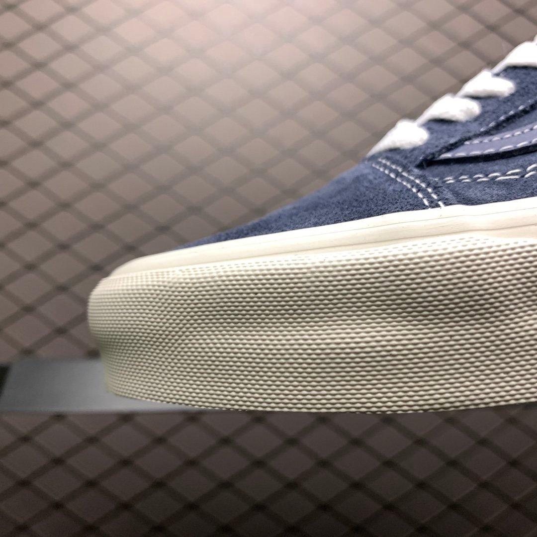 万斯Vans经典低帮蓝色休闲板鞋20EDDH37