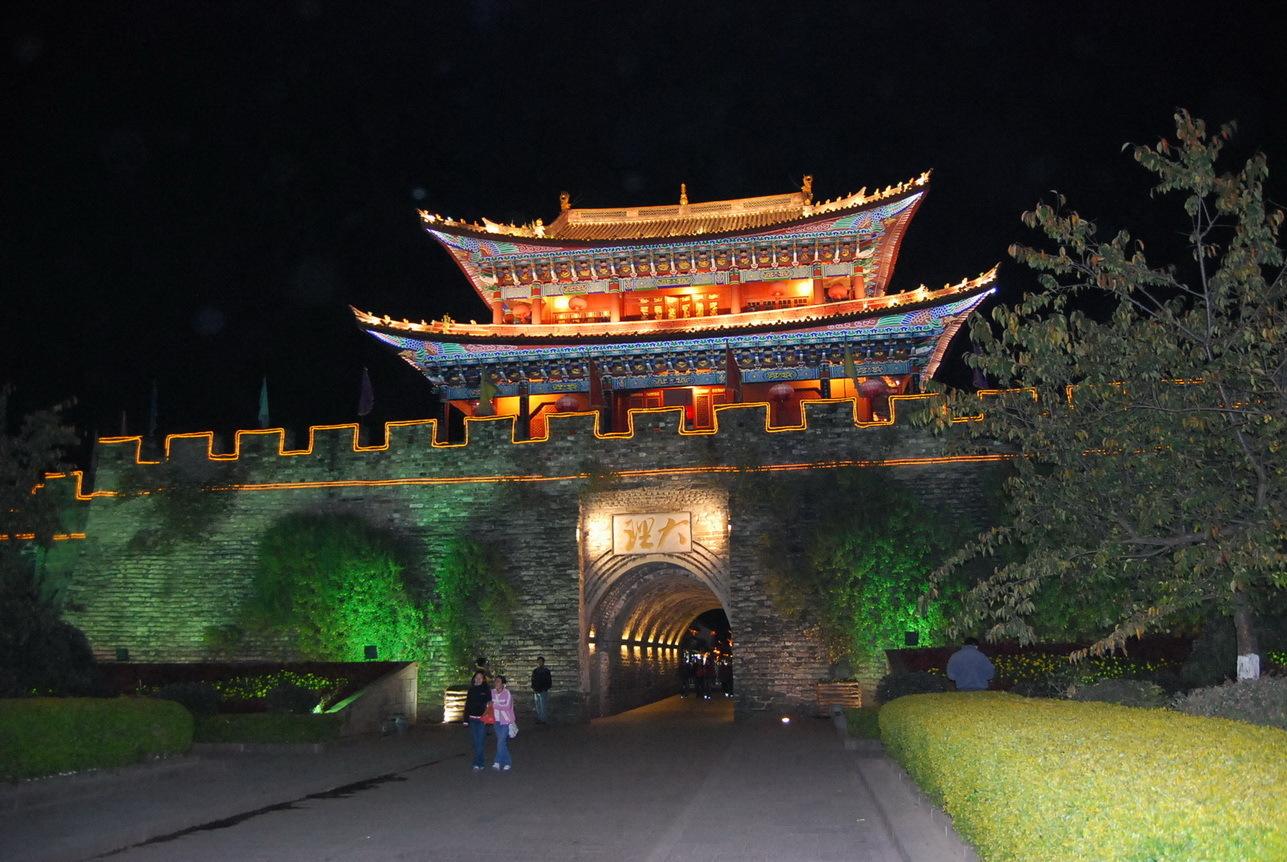 丽江古城旅游线路图-丽江古城有哪些著名景点?旅游路线?