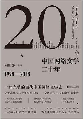《中国网络文学二十年》pdf