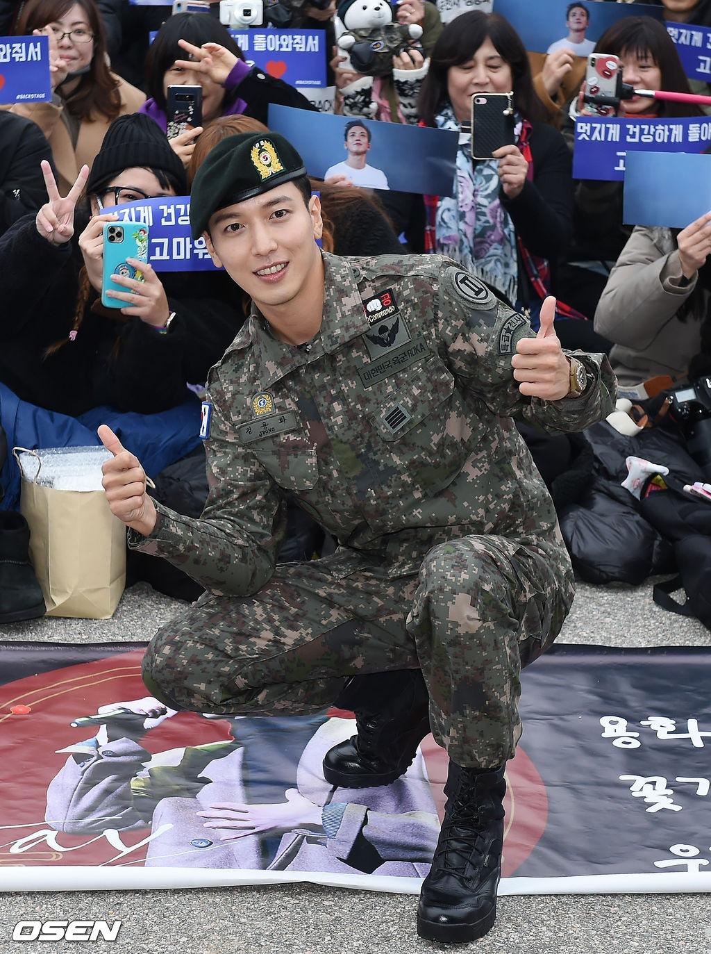 千名粉丝迎接他!郑容和正式退伍宣布下月开始巡演,自爆在军中认识了更多女团插图6