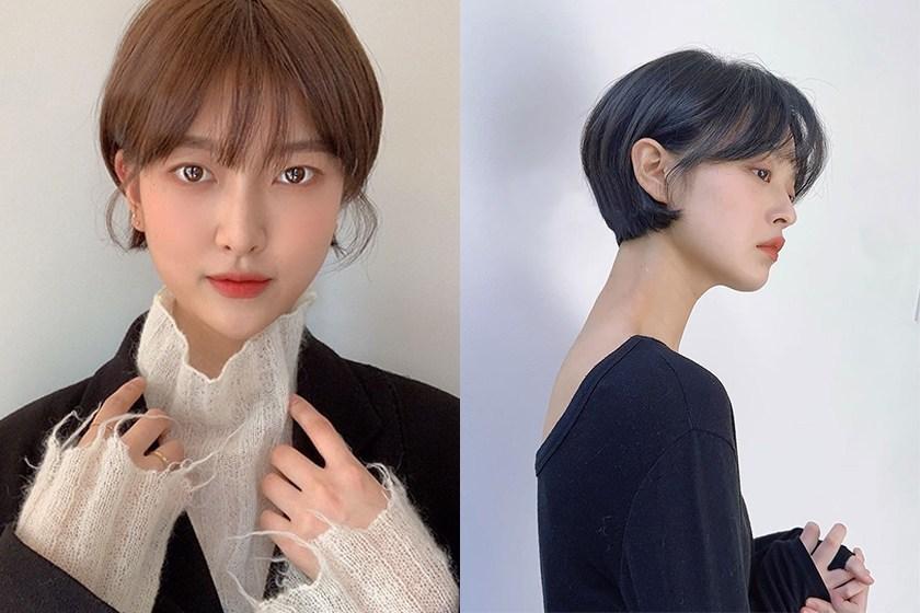 到了春天想换发型?这些韩国女生的短发造型或许能给你灵感!插图