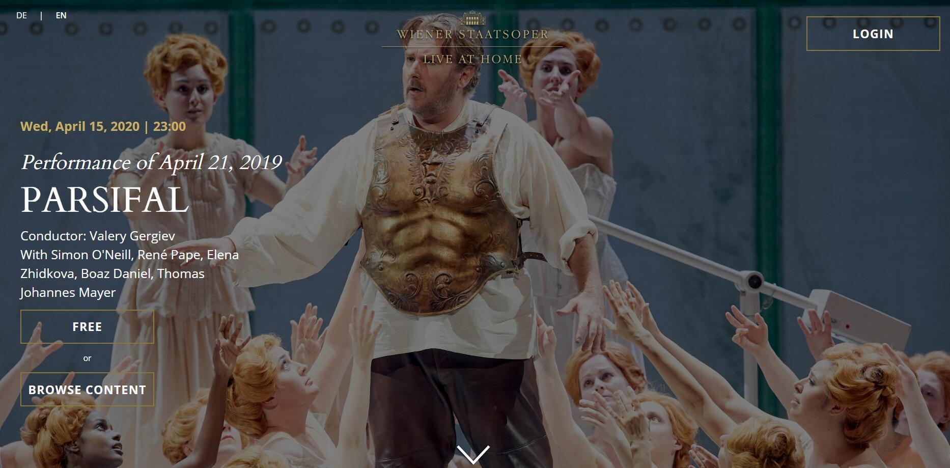 维也纳国家歌剧院免费开放,歌剧/芭蕾舞剧统统免费看插图(1)