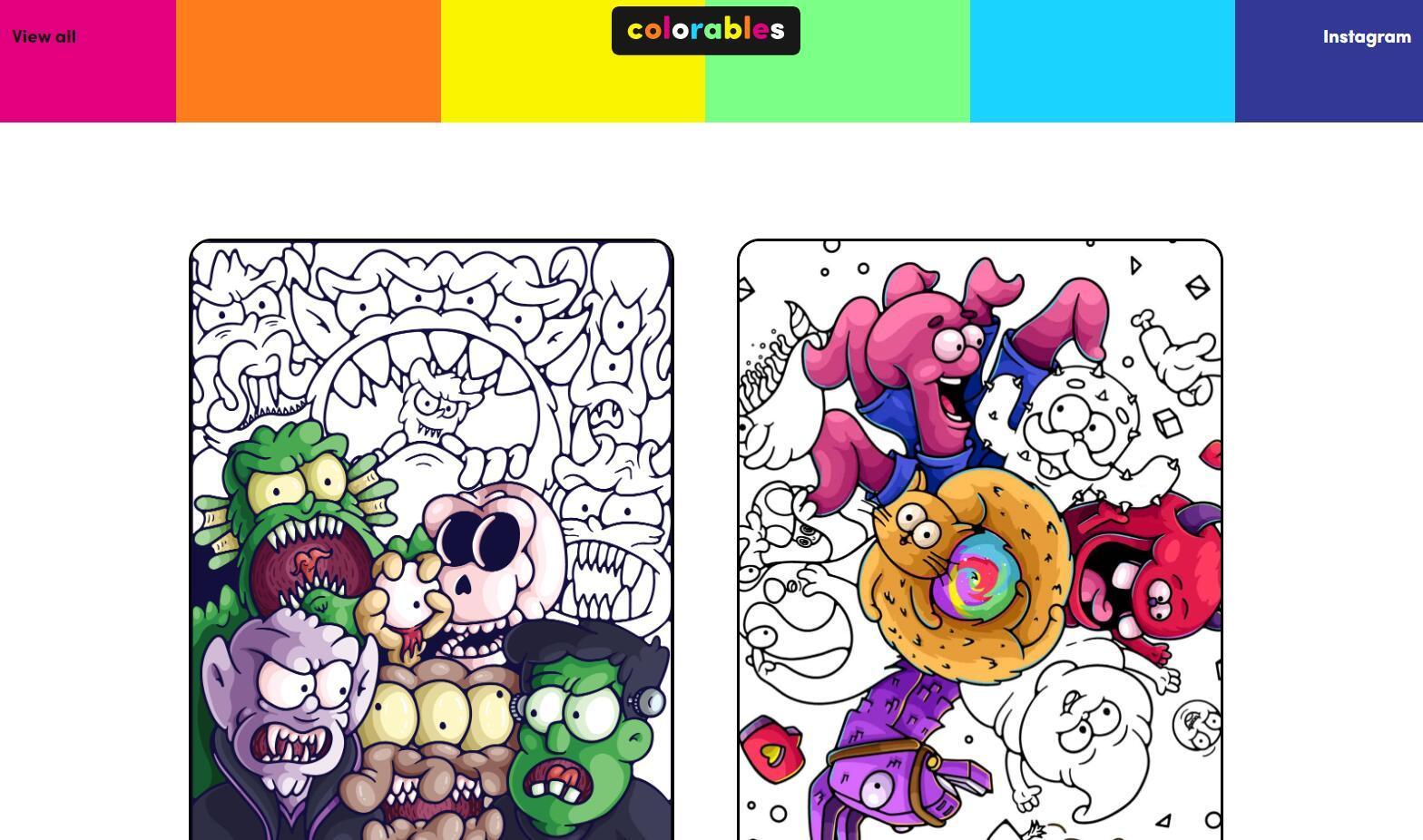 【网站】舒压好方式!最值得推荐的5个免费着色本网站插图