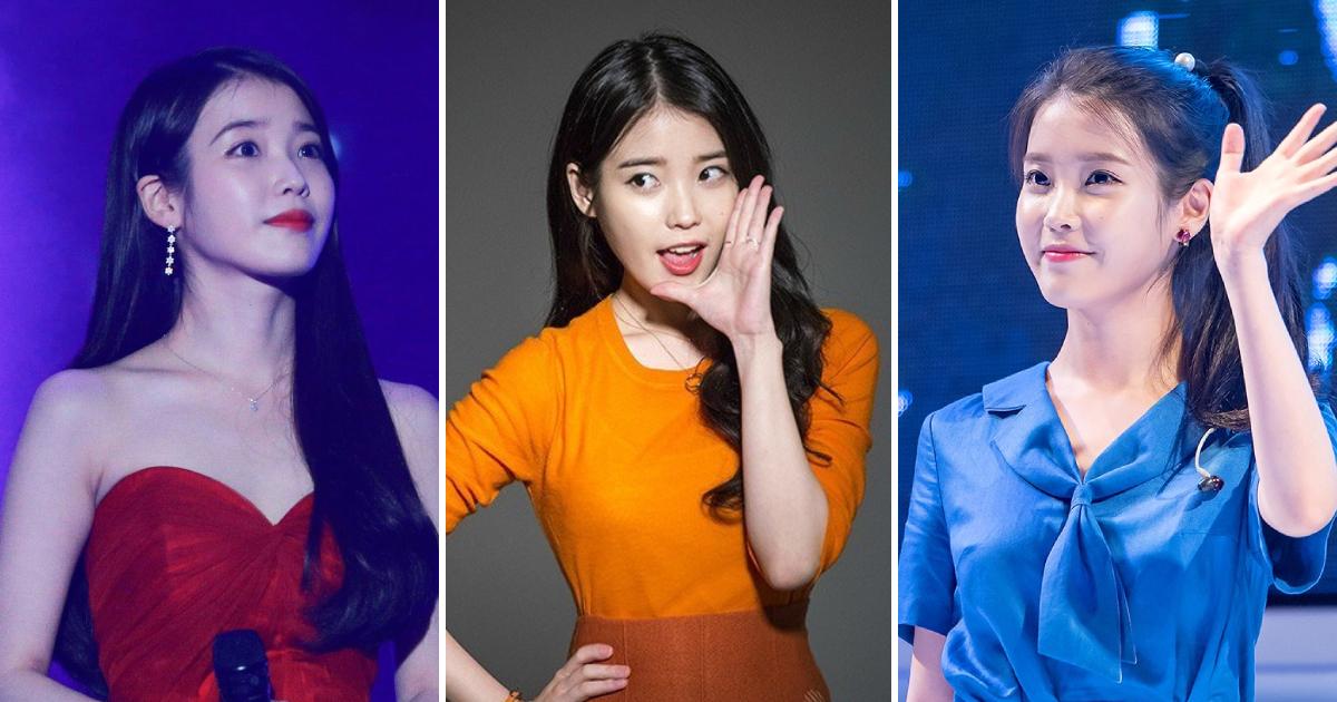 韩国当红偶像IU真是什么颜色都能驾驭啊!插图