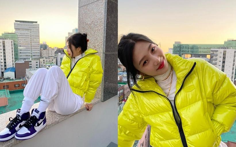 寒冬新时尚!跟着韩国女星学习羽绒服穿搭,一起来做冬日女神!插图3