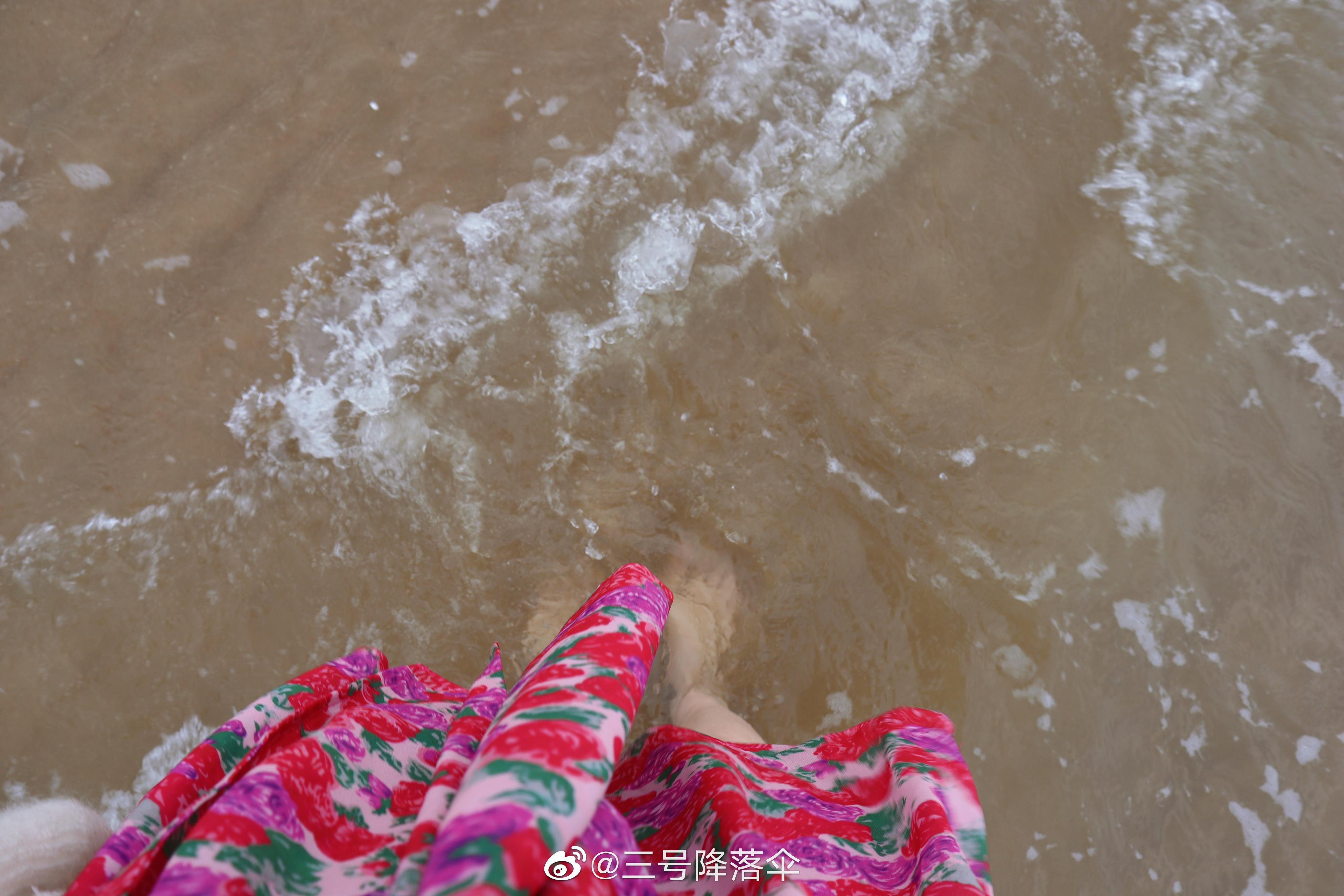 公主日记夏天来了天津·东疆湾景区美女