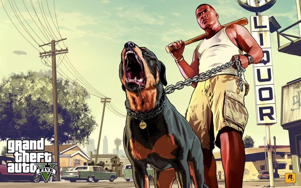 Epic 免费赠送游戏 GTA5《侠盗猎车手5》(Grand Theft Auto V)!
