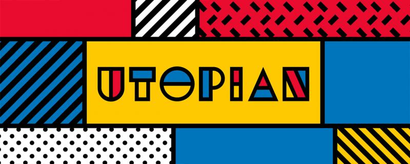 Utopian – Animated Typeface v1 破解版 – 图形化的模块化类型