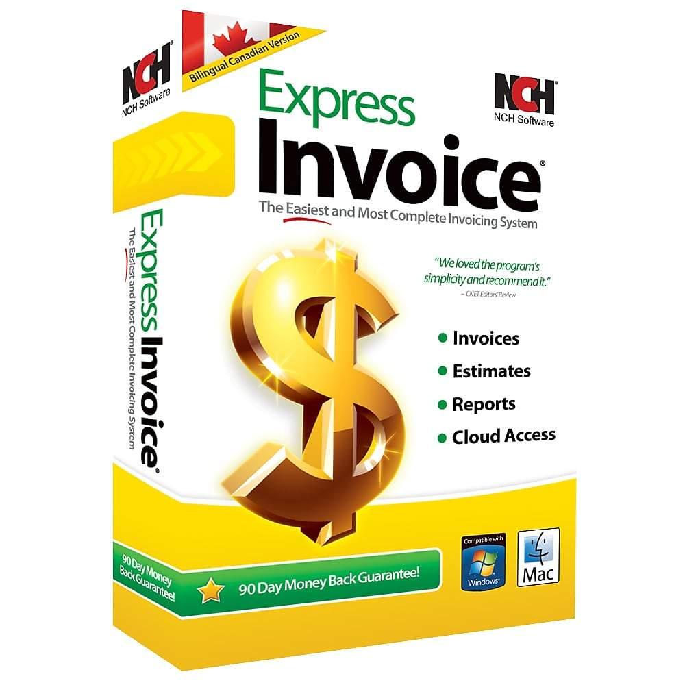 NCH Express Invoice Plus 7.34 破解版 – 发票管理软件