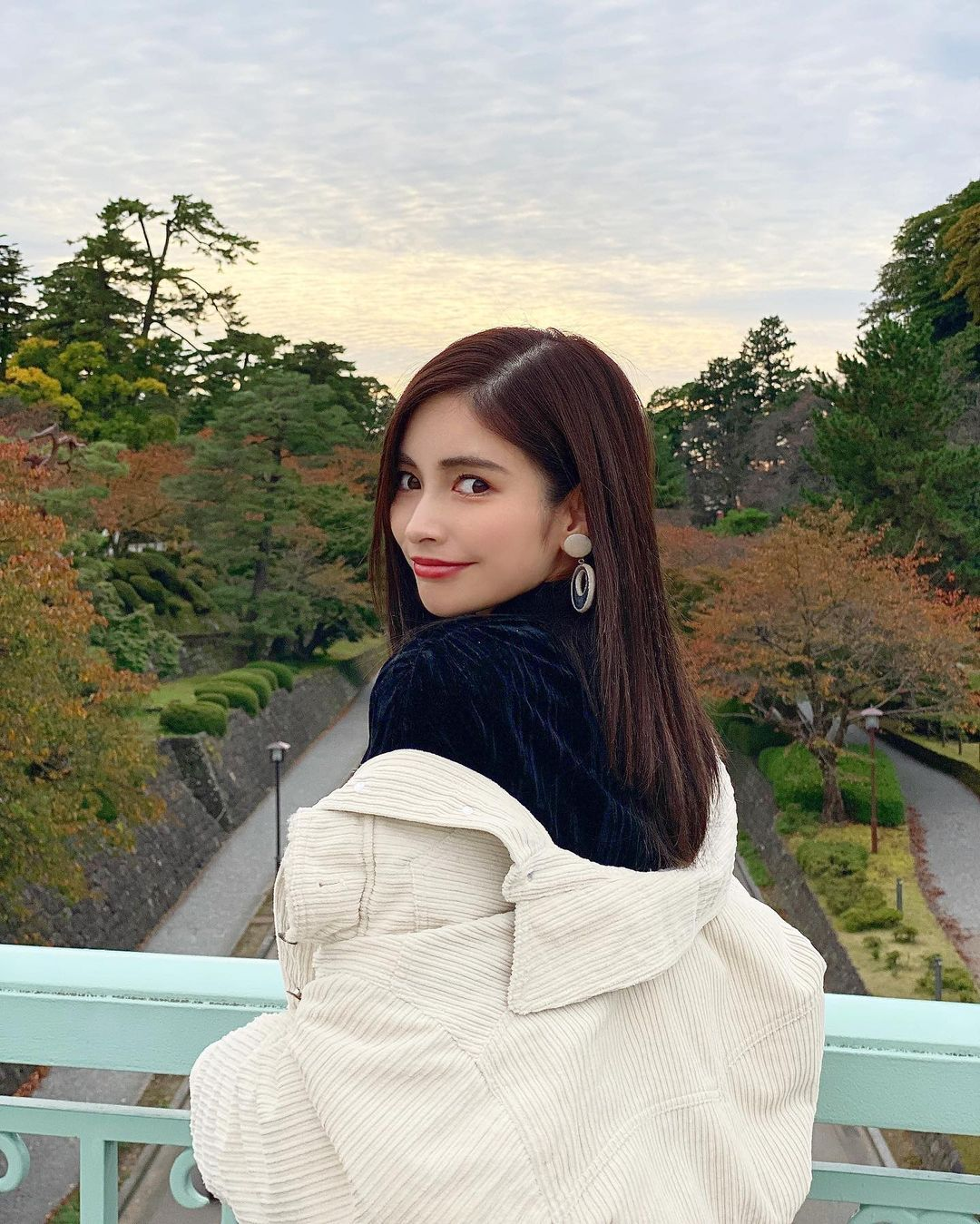 长发御姐@得丸あゆみ 甜美笑容让人秒沦陷 网络美女 第4张