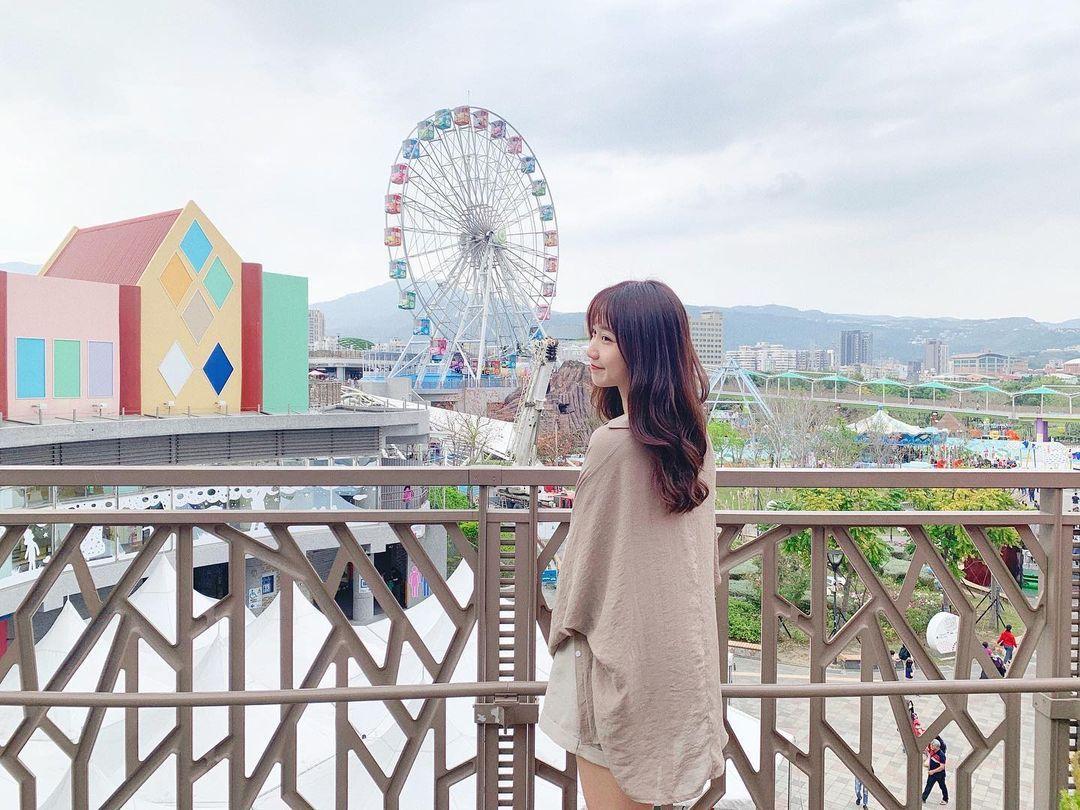 北教大校花女神「倩米」清新笑颜太甜美,好想回去读书啊!-新图包