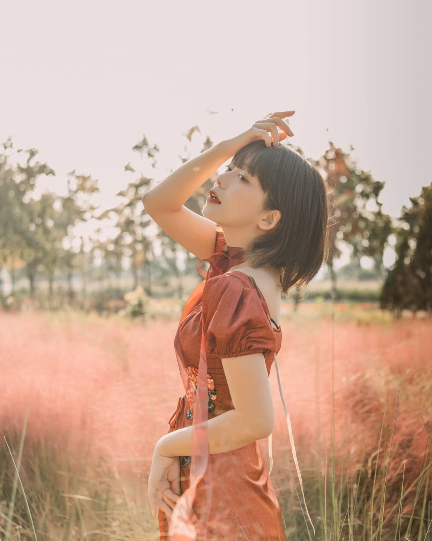 清纯短发妹「ソニョン」甜美气质让人无法抗拒