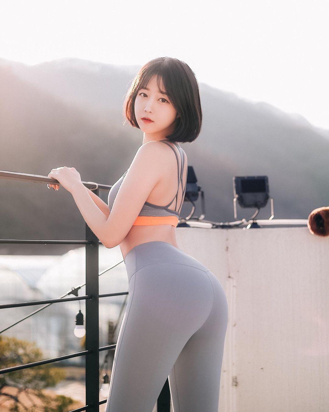 韩国极品模特推荐「Rumi」健身小只马连锁模特儿插图5